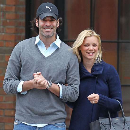 Amy Smart with Husband Carter Oosterhouse