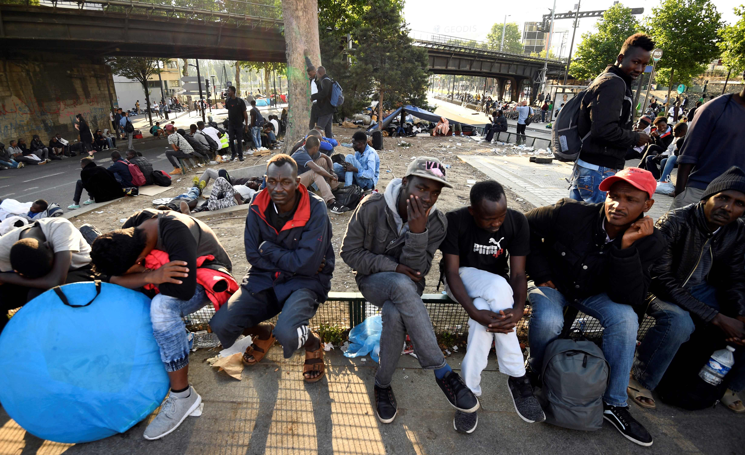 Thousands Evicted from Paris Migrant Camp - NBC News