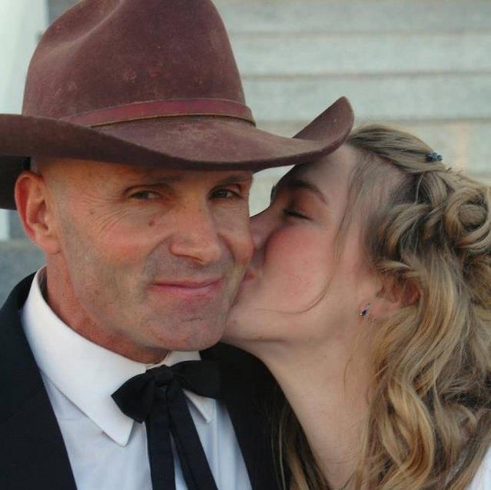 Robert LaVoy Finicum at daughter Challice Finch's wedding. Finicum ...