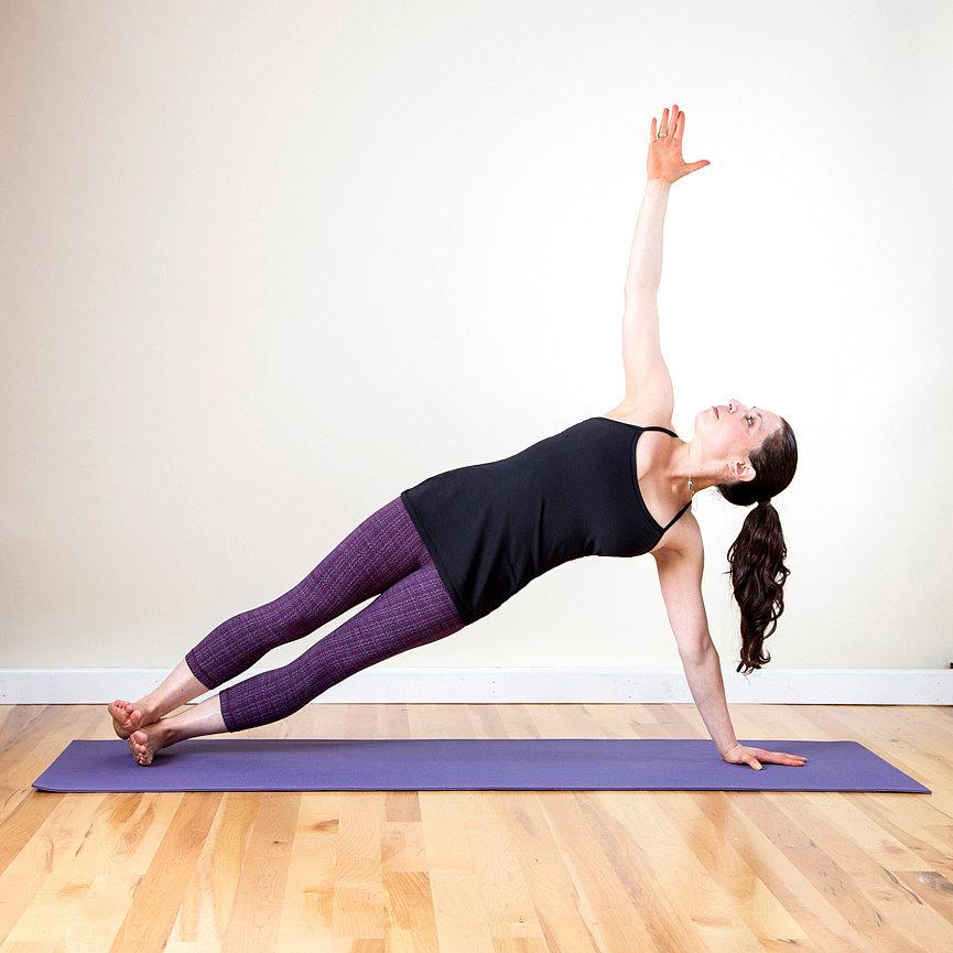 Muscle-Burning Yoga Poses | POPSUGAR Fitness