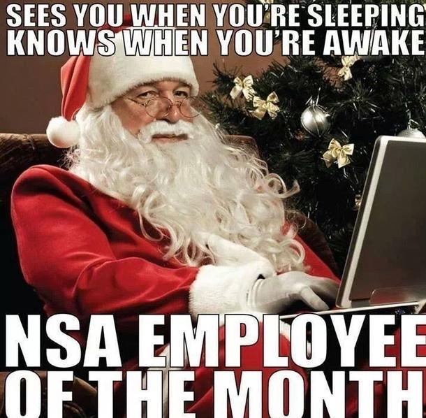 NSA Santa - Meme Guy