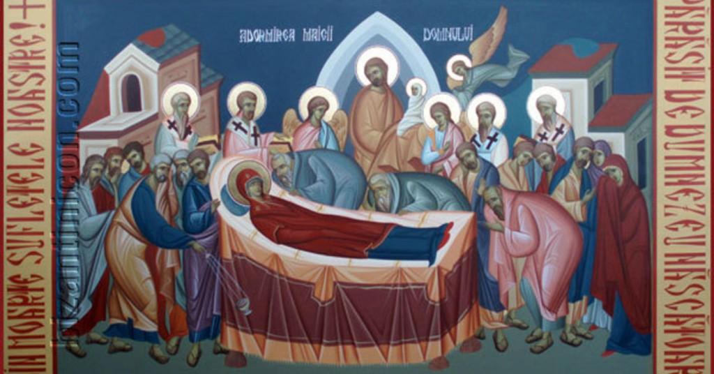prăznuiește în fiecare an, la 15 august, Adormirea Maicii Domnului ...