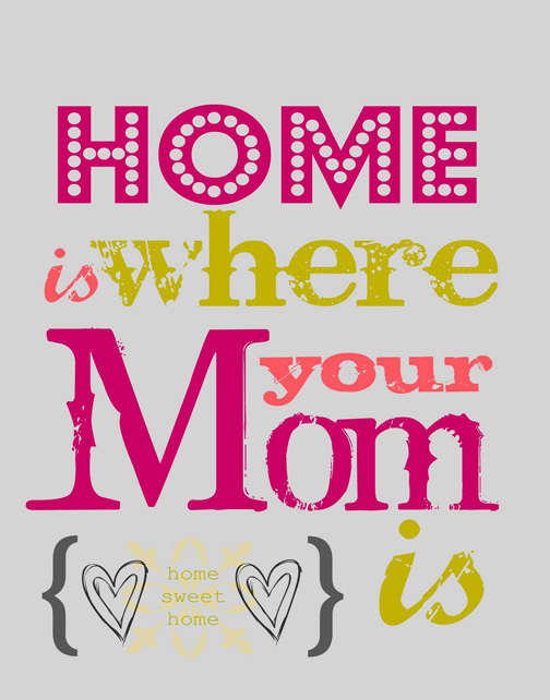 Mom Quote Home is