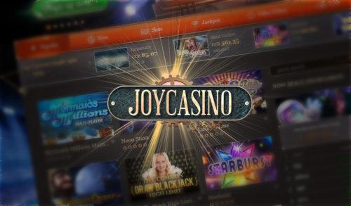 Официальный сайт Джойказино дарит бонусы всем новичкам
