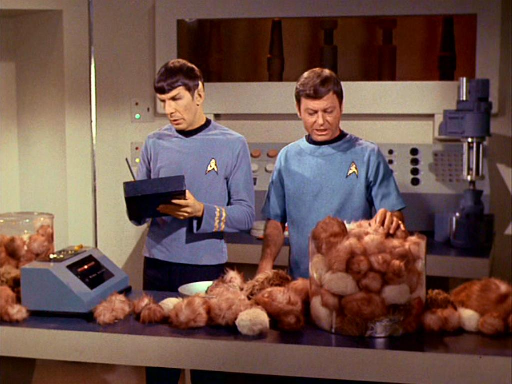 Star Trek–The Trouble with Tribbles (1967) 2 comments
