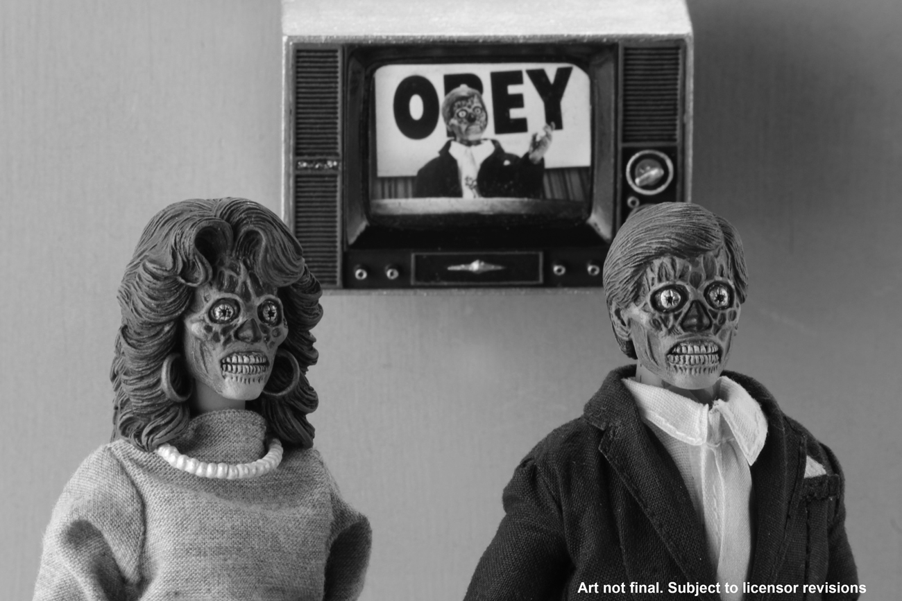 They Live – 8″ Clothed Action Figures – Alien 2 Pack ...
