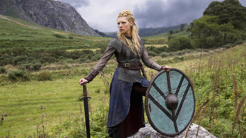 Researchers have identified what may be the first evidence of a Viking woman with a battle injury
