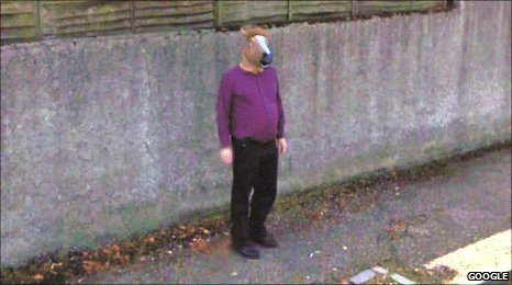 Mystery surrounds 'horse-boy' on Google Street View - BBC News