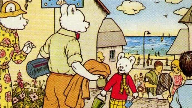 Rupert Bear turns 90 - BBC News