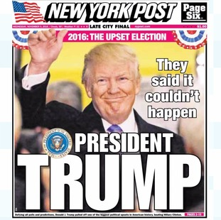 What the US papers say about Donald Trump's shock election ...