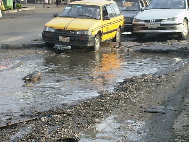 ... THOUGH I WALK AND DRIVE THROUGH THE VALLEY OF LAGOS ROADS