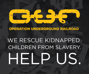 Please give to Operation Underground Railroad this ...