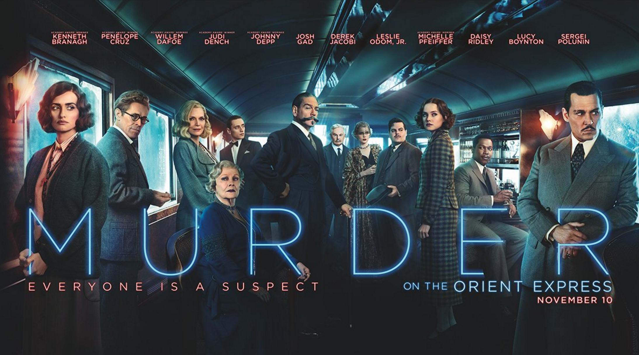 Murder On The Orient Express New Trailer - Nothing But Geek