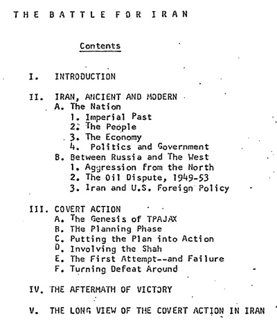 The Battle for Iran, 1953: Re-Release of CIA Internal ...