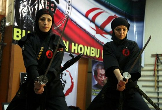 Female Ninjas of Iran - Odd Culture