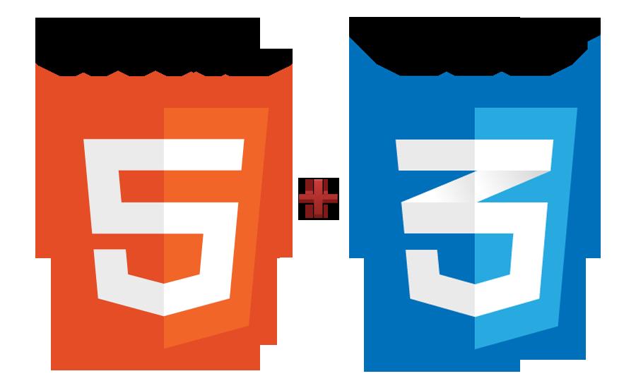 html css logos