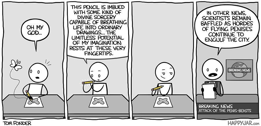 Happy Jar - Magic Pencil by tomfonder on DeviantArt