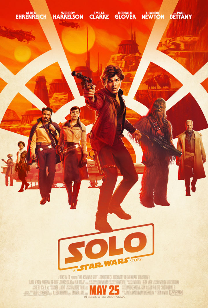 New Solo Poster Strikes a Familiar Pose - IGN