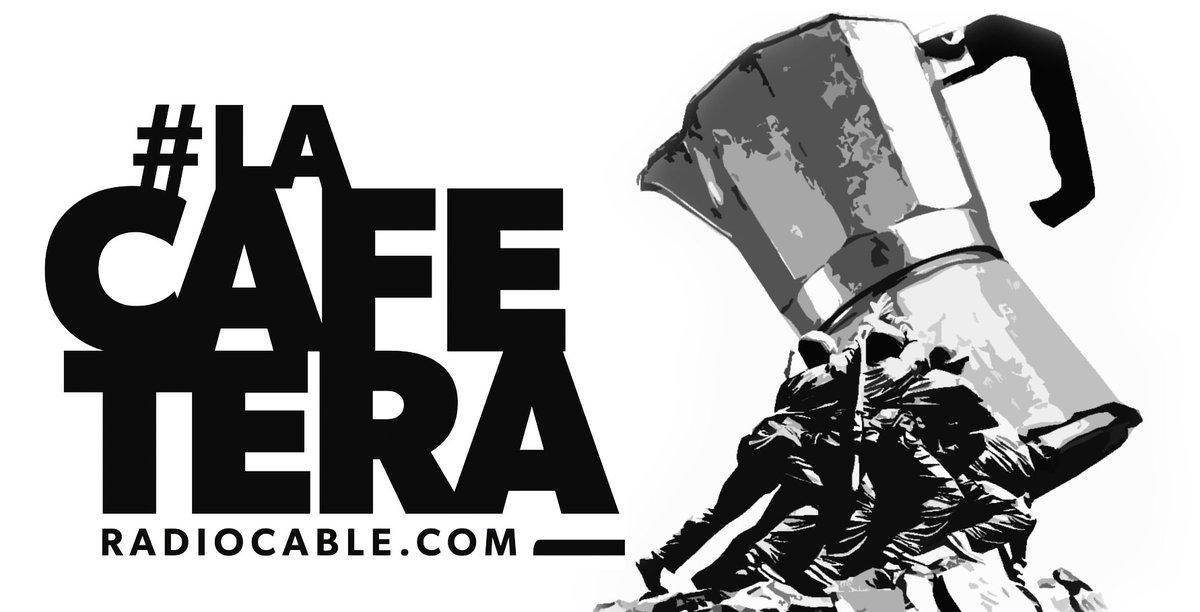 La Cafetera, de Radiocable La Cafetera es un programa de radio diario de actualidad. Se emite por la mañana, aunque se puede descargar en formato podcast y escucharse cuando se quiera. Al financiarlo sus oyentes, no depende de grandes corporaciones partidistas