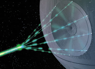 ... surpassed the power of the Death Star's Alderaan-killing beam-thing