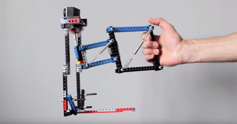 How to Build a DIY Camera Stabilizer Using LEGO