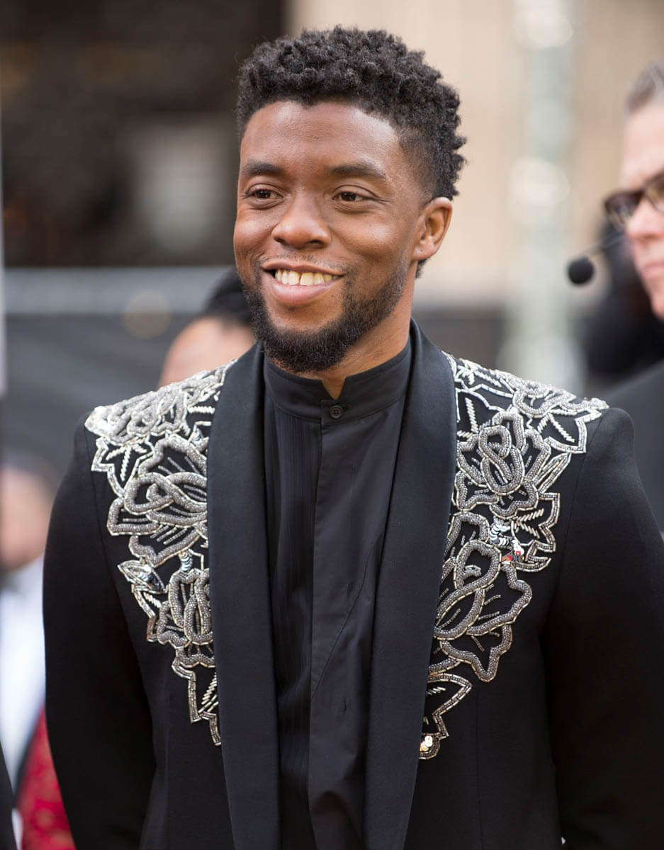 Chadwick Boseman was a King at the 2018 Oscars