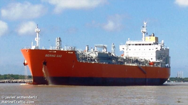 Vessel details for: BERING GAS (LPG Tanker) - IMO 9745536 ...