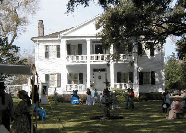 Hempstead, TX : LIENDO PLANTATION (Civil War Re-enactment in progress ...
