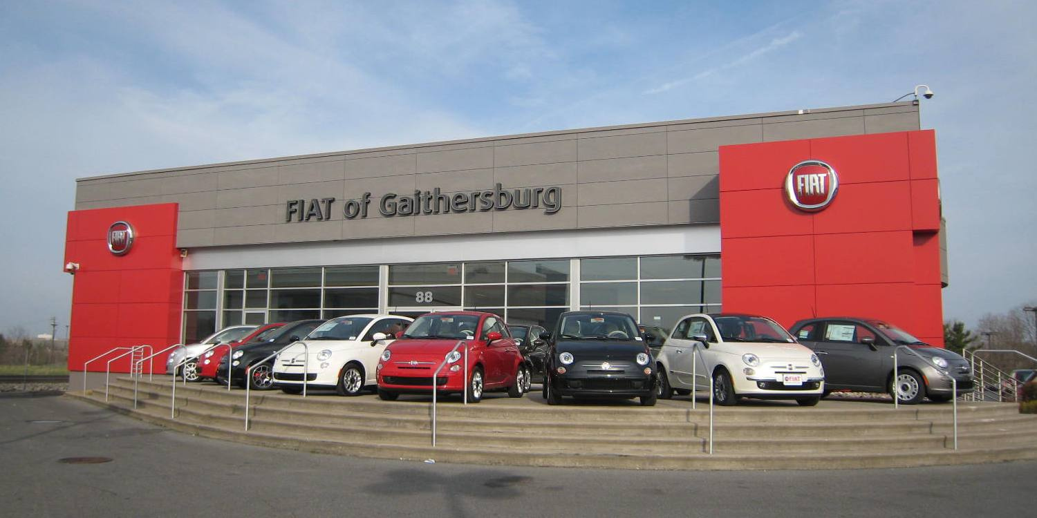 of Gaithersburg is one of the premier FIAT Dealerships in the USA-  Fiat Has More Trouble Selling Cars