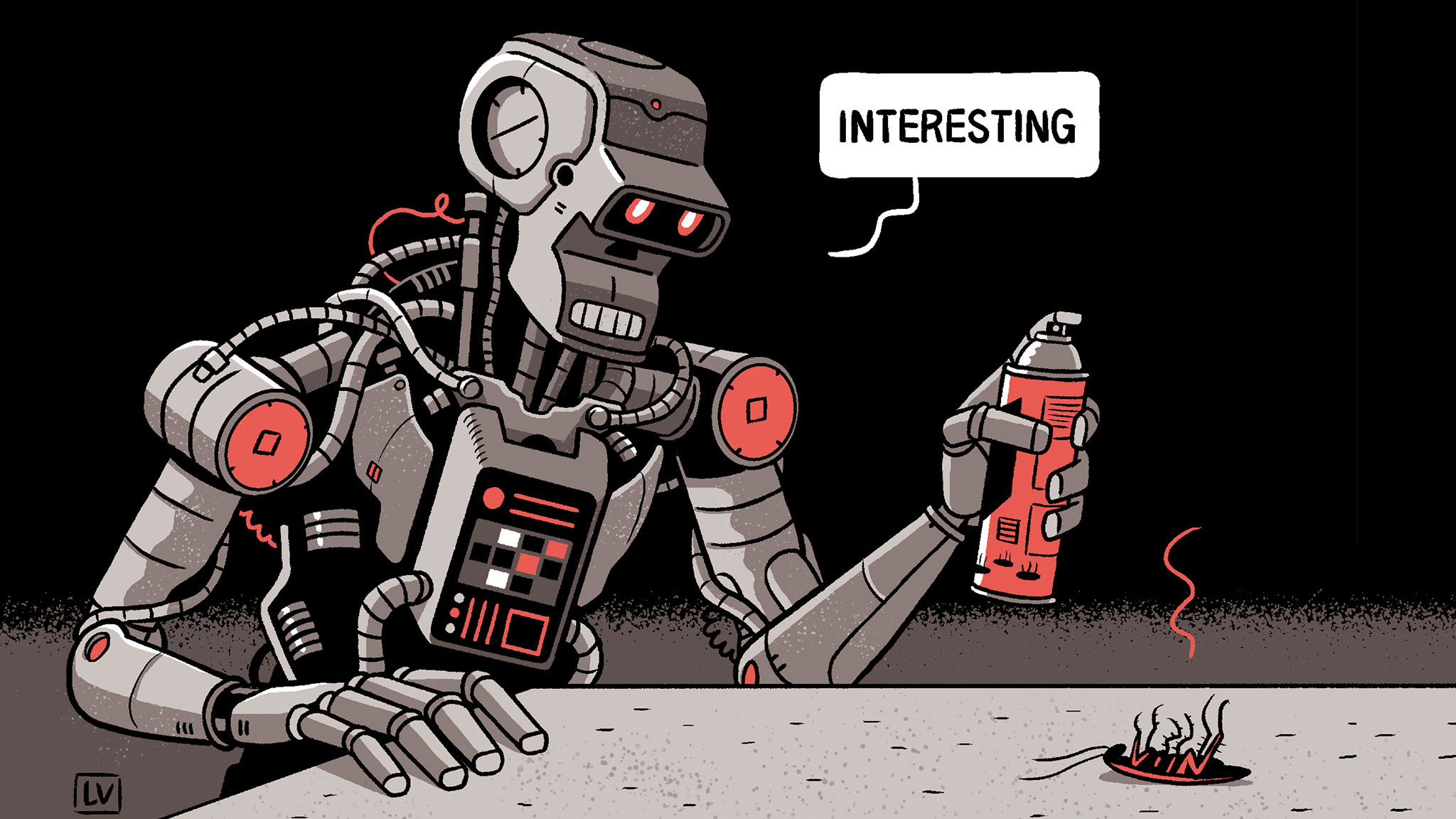 Killer robots and cunning plans