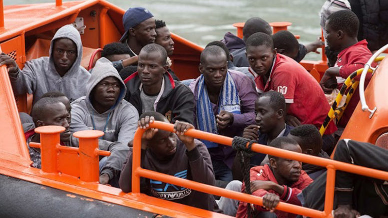 Spanish police say they have dismantled a major human-trafficking organization that smuggled sub-Saharan Africans into Europe…