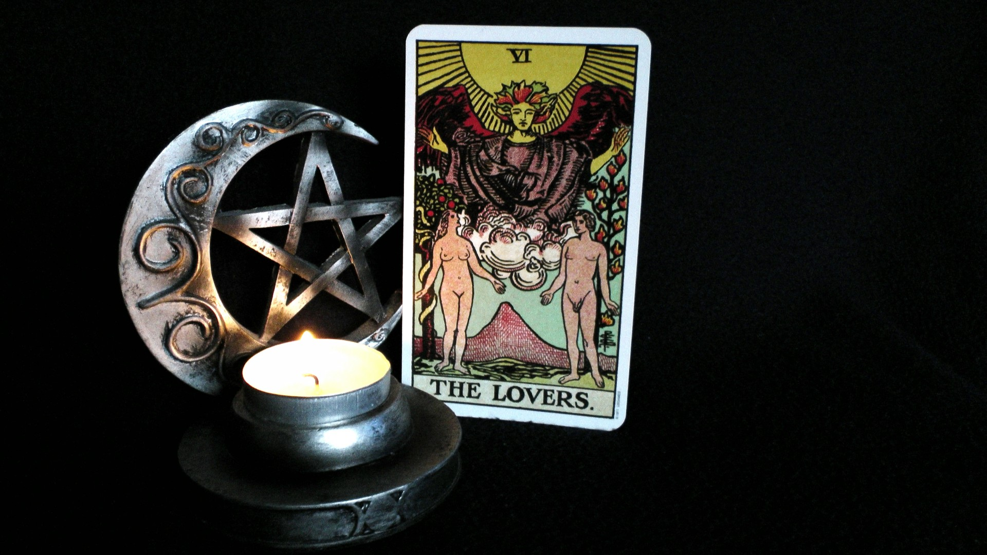 Tarot Cards The Lovers Free Stock Photo - Public Domain ...