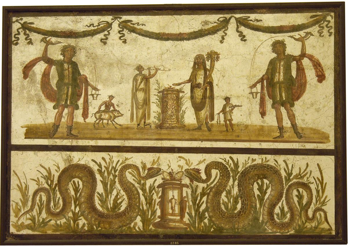 The Lararium | Lucus Antiquus