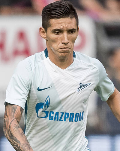 The 24-year old son of father (?) and mother(?), 179 cm tall Matías Kranevitter in 2017 photo