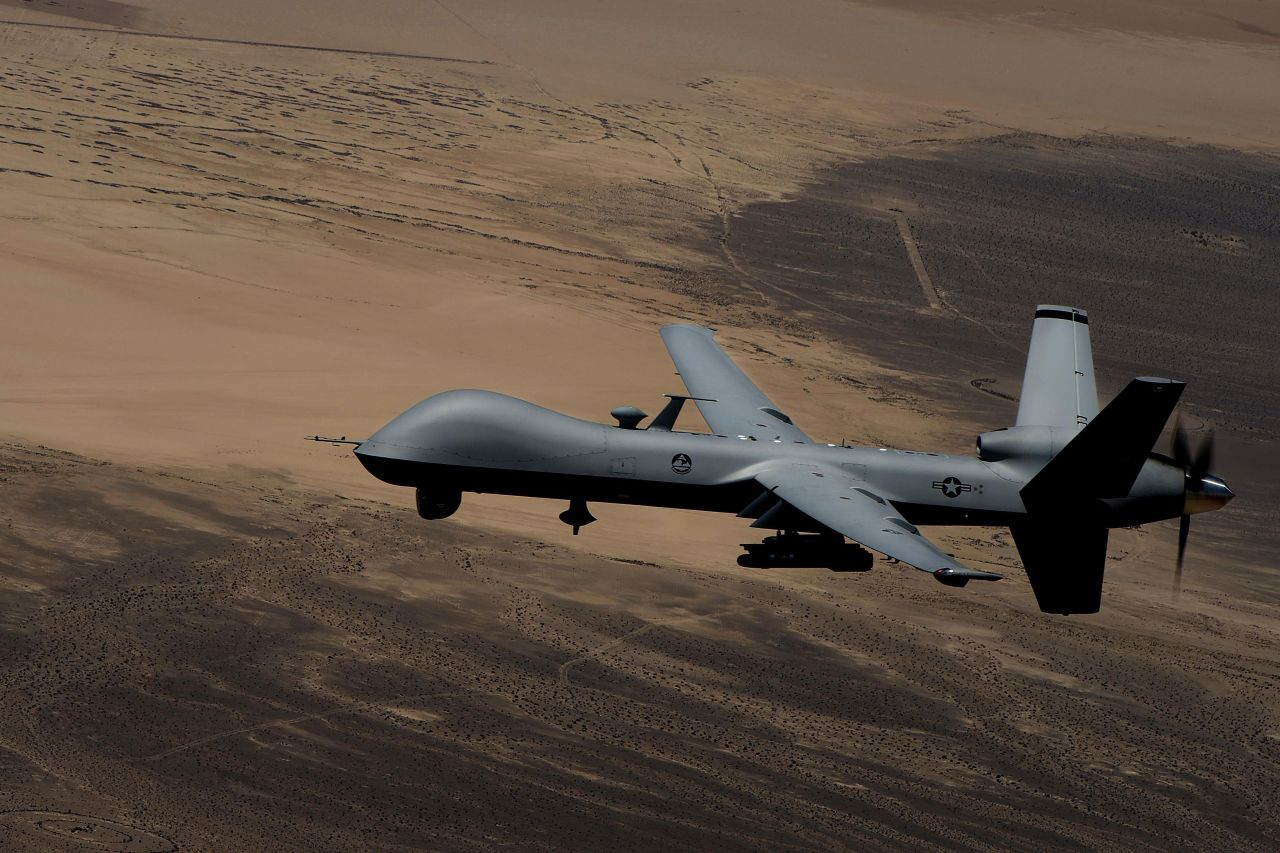 US drone, tank documents