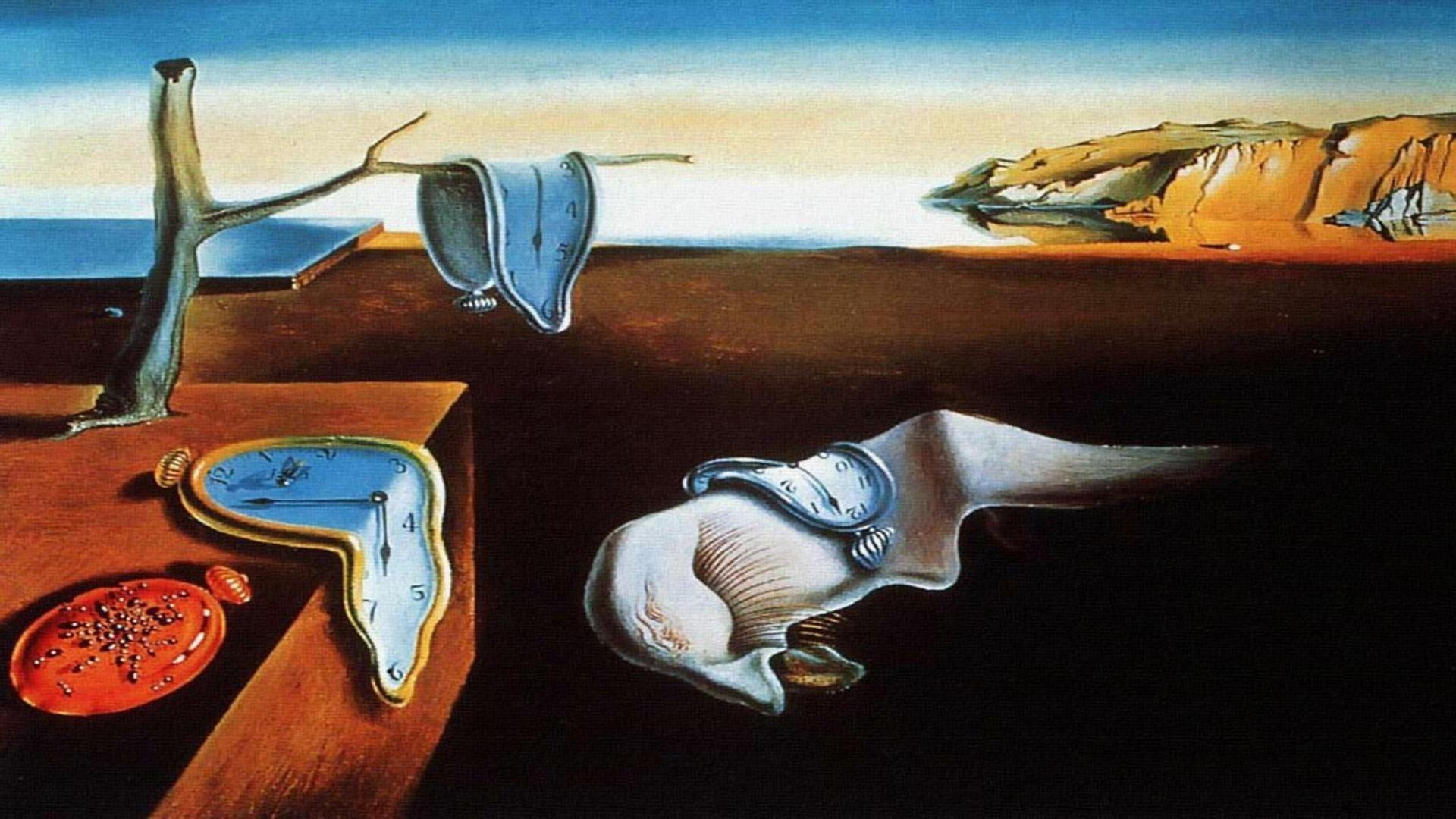 The Persistence Of Memory Salvador Dali - Wallpaper, High Definition ...