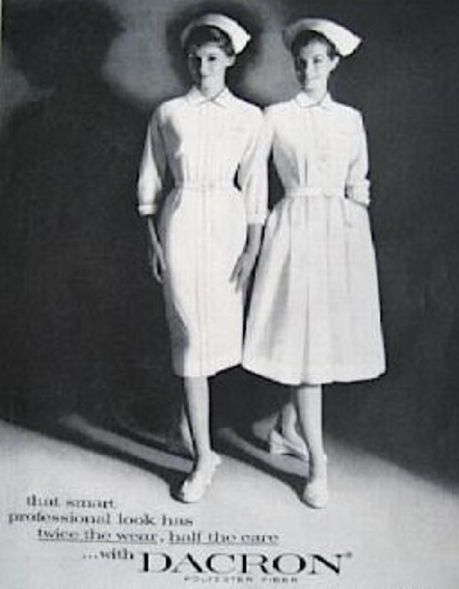 Classic nurse uniforms