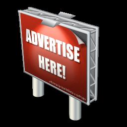 Иконка advertising, реклама, билборд, billboard, размер ...