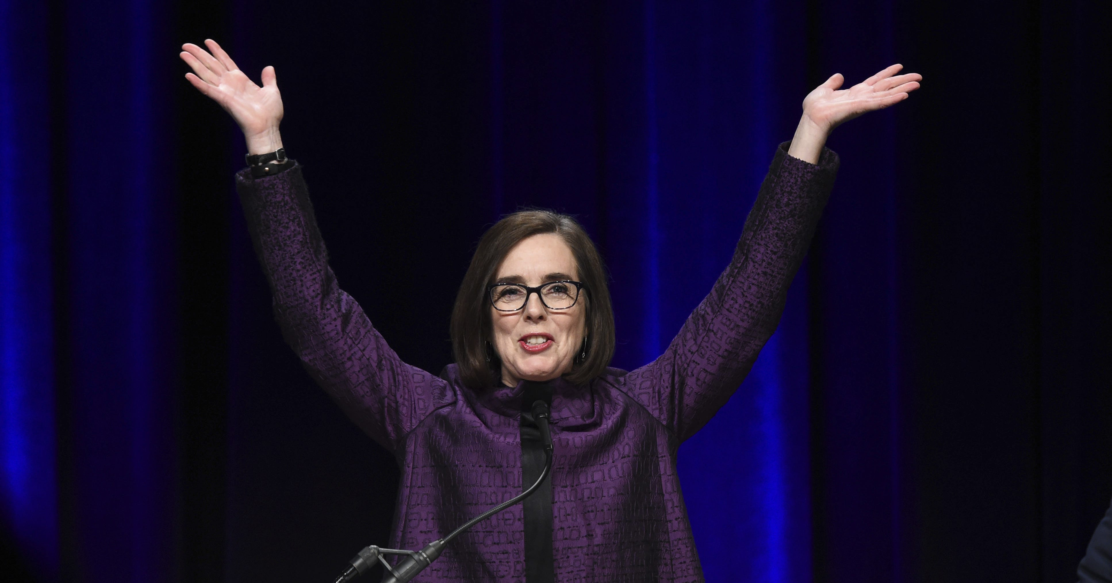 Kate Brown First Openly LGBT Governor Oregon