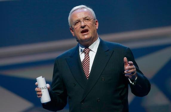 Volkswagen CEO, Martin Winterkorn - warns EU on overburdening automakers on CO2