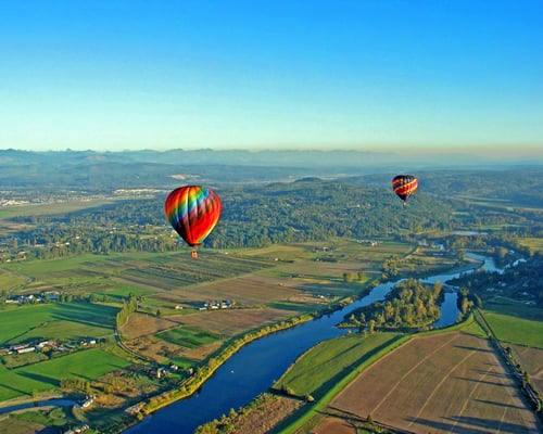 Airial Hot Air Balloon Flights Snohomish