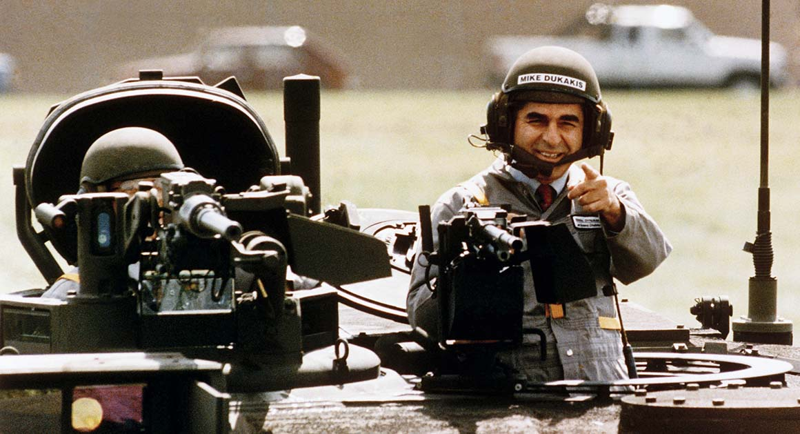 Dukakis and the Tank - POLITICO Magazine