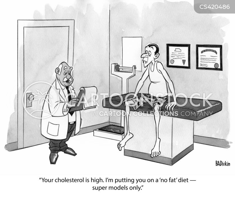 Cholesterol Levels Cartoons and Comics - funny pictures ...