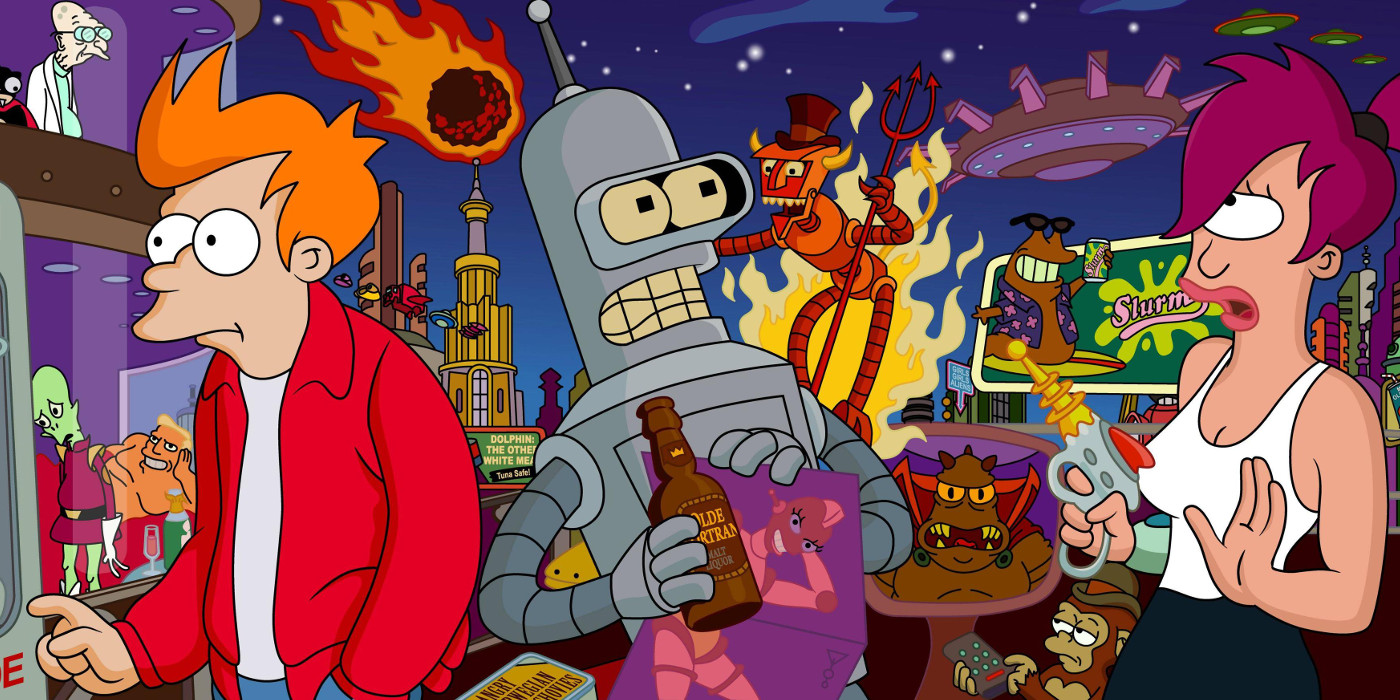 Futurama Returns for New Podcast Episode | Screen Rant