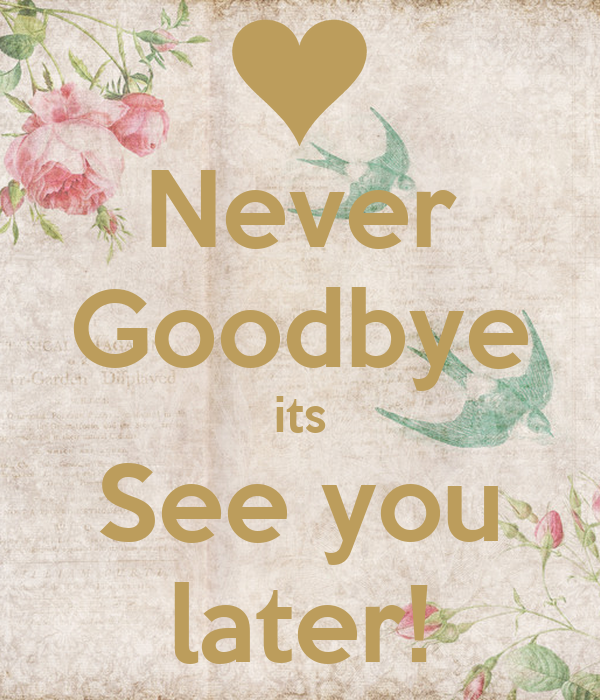 Never Goodbye
