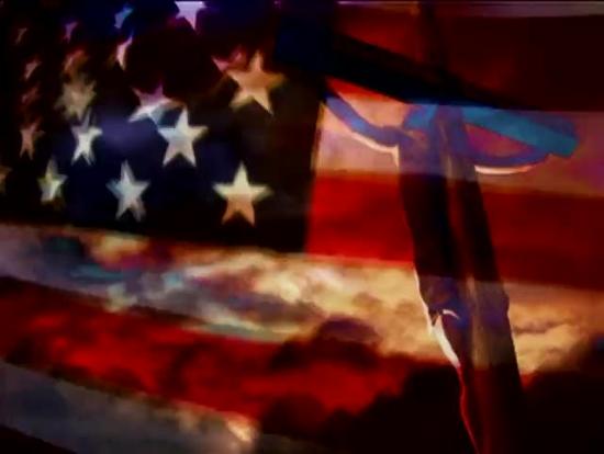 American Flag and Cross Loop - 4th of July | Beamer Films ...