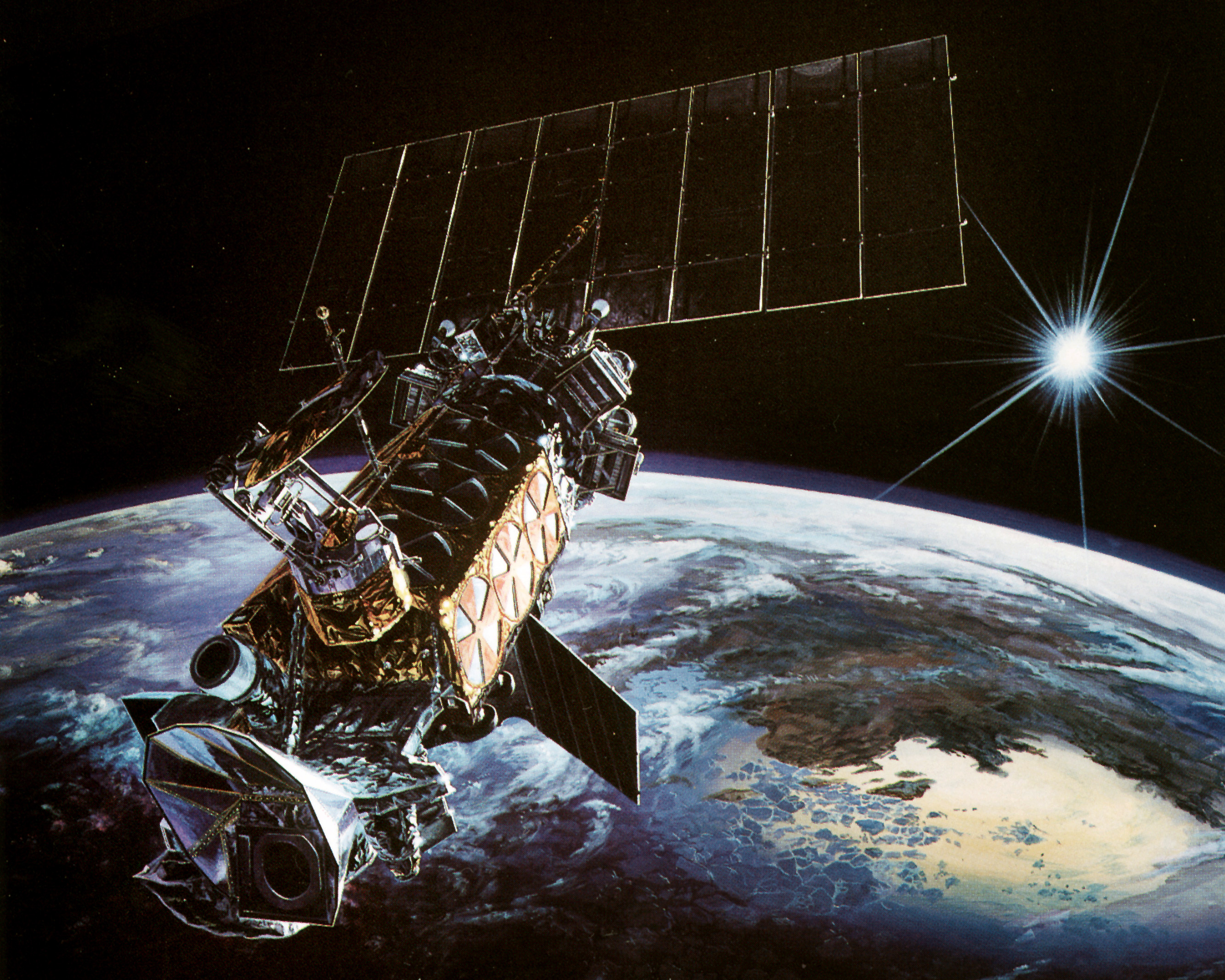 20-year-old Military Weather Satellite Exploded in Orbit