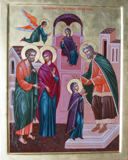 Presentation of the Holy Virgin into the Temple