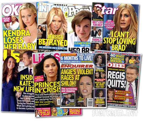 PHOTOS Tabloid covers for the week of December 20, 2010