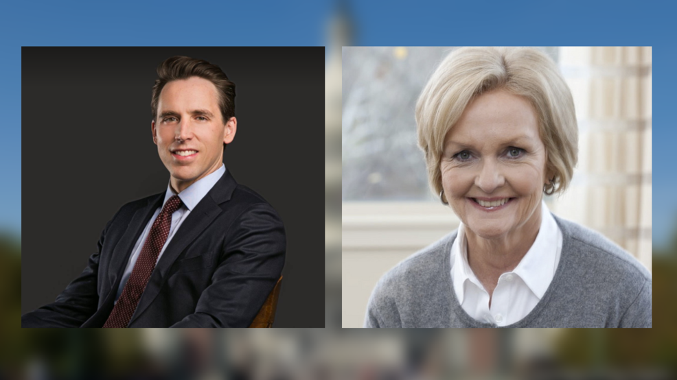 McCaskill reacts ahead of Trump's campaigning for Hawley ...